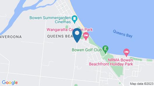 Queens Beach Tourist Village Map