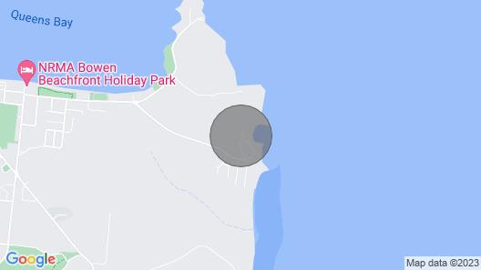 Golden Sands Beach House, Rose Bay, Bowen Map