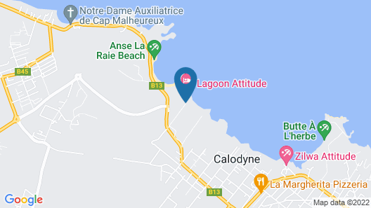 Lagoon Attitude - Adults Only Map