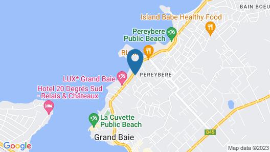 Rive Bleue Luxury Apartments Map