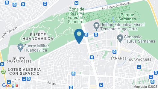 NCG Suite Samanes 1 Map