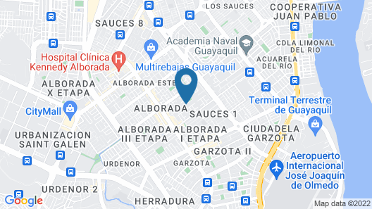 Casa Michael Map