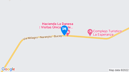 Hacienda La Danesa Map