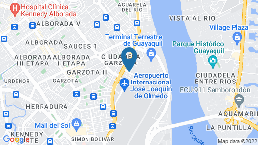Holiday Inn Guayaquil Airport Map
