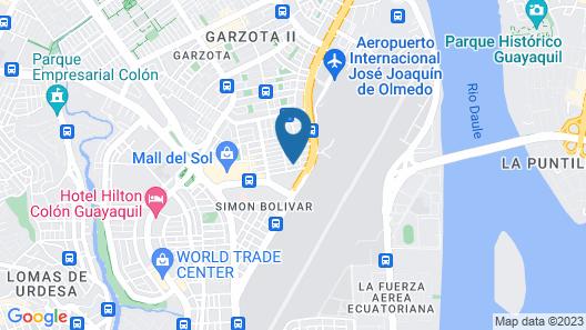 Murali Hostal Guayaquil Map