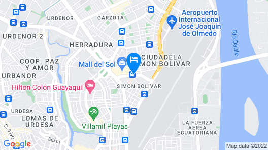 TRYP by Wyndham Guayaquil Map