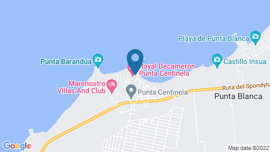 Royal Decameron Punta Centinela Map