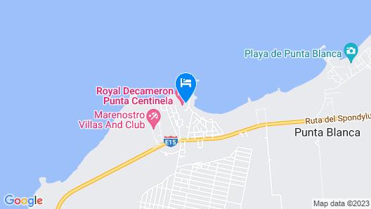 Royal Decameron Punta Centinela Map