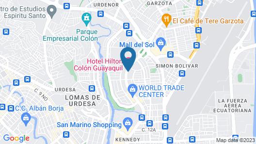 Hilton Colon Guayaquil Map