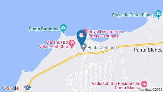 Departamento Punta Centinela Map