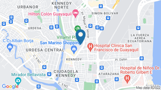 Courtyard by Marriott Guayaquil Map