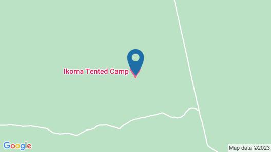 Ikoma tented Camp Map