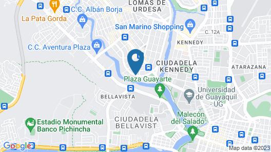 Luxva Hotel Boutique Map