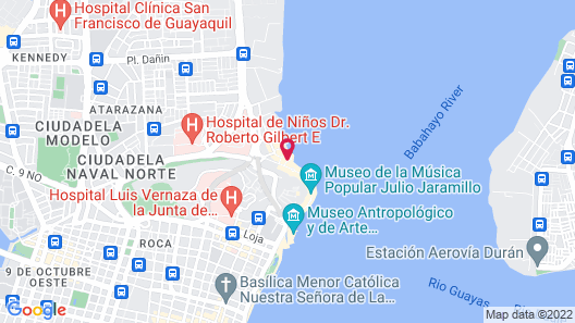 Wyndham Guayaquil, Puerto Santa Ana Map