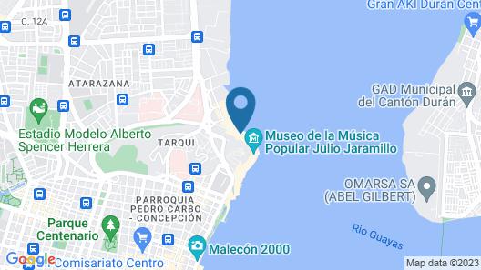River View suites Puerto Santa Ana gye Map