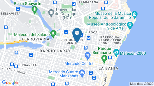 Oro Verde Guayaquil Map