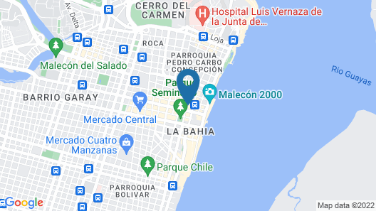 Hotel Palace Guayaquil Map