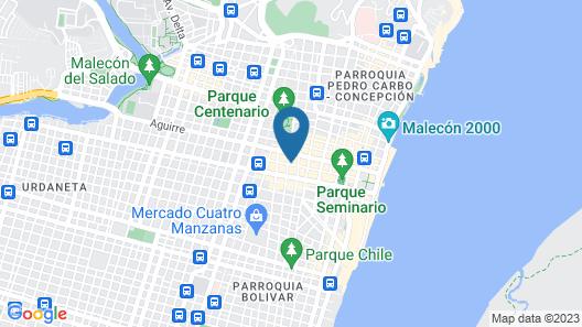 Sol de Oro Map