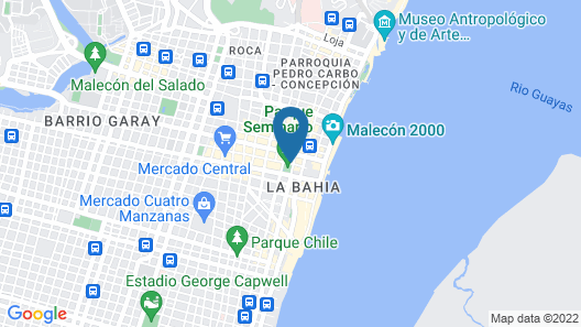 Unipark by Oro Verde Hotels Map