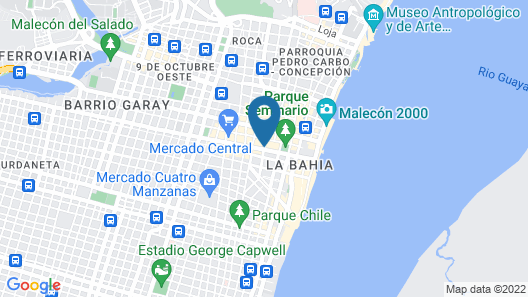 Grand Hotel Guayaquil, Ascend Hotel Collection Map