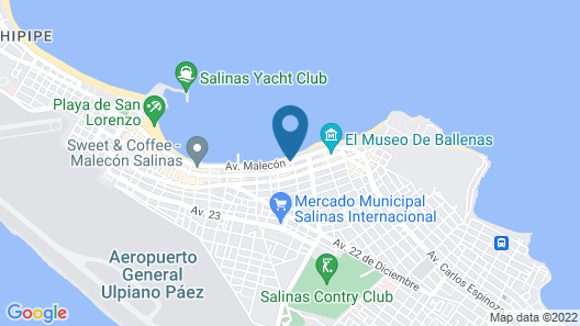 Hotel Colón Salinas Map