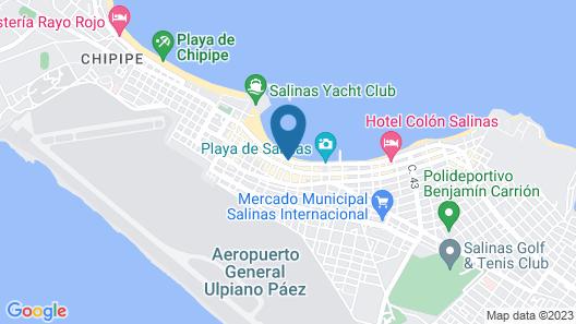 Hotel Cocos Map
