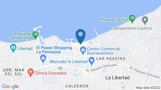 Hotel Punta Del Mar Map
