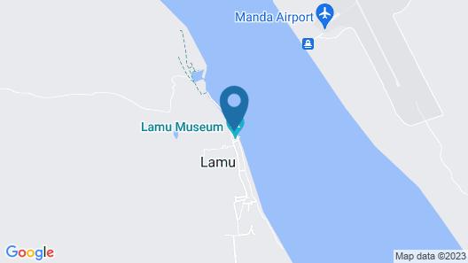 Lamu House Hotel Map