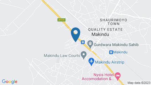 Makindu Diamond Hotel Map