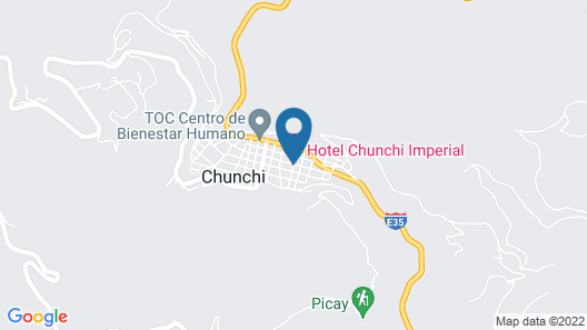 Hotel Chunchi Imperial Map