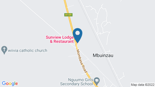 Sunview Lodge & Restaurant Map
