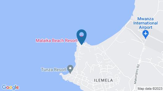Malaika Beach Resort Map