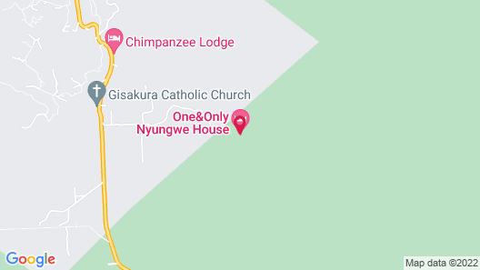 One&Only Nyungwe House Map