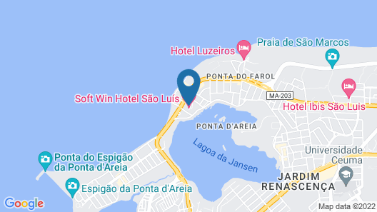 Hotel Bellagio SLZ Map