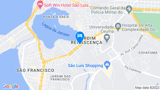 SLZ Lagoa Hotel Map