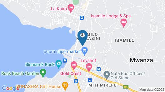 ISAMILO LODGE & SPA Map