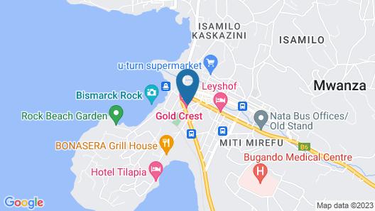 New Mwanza Hotel Map