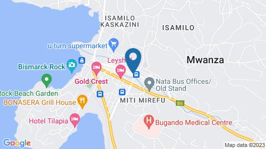 VIZANO HOTEL&TOURS Map