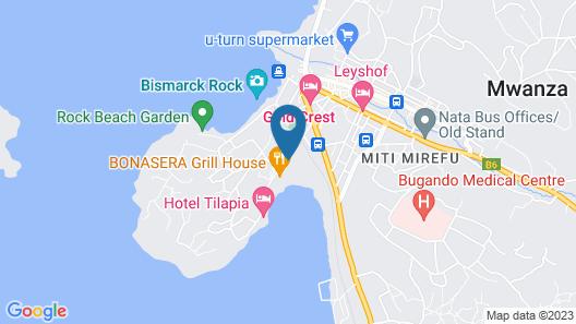 Ryan's Bay Hotel Map