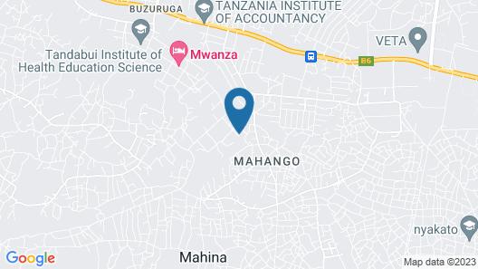 Mahina Paradise Hotel Map