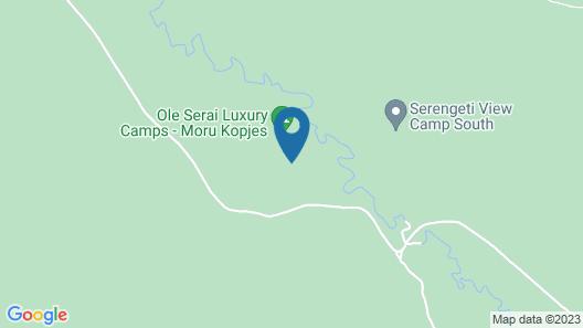 Ole Serai Luxury Camp Map