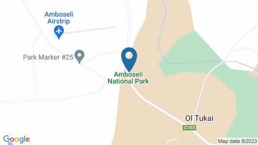 Kimana Amboseli Camp Map