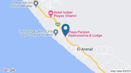 Playa Paraíso Map