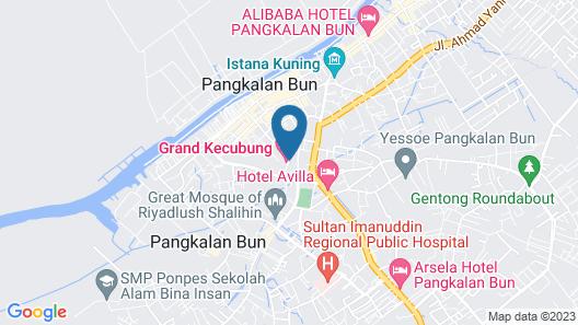 Grand Kecubung Hotel Map
