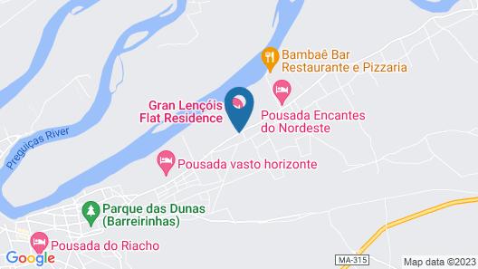 Gran Lençóis Flat Residence Map