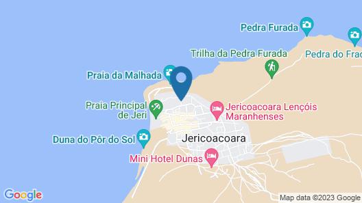 Casa Jeri - Residence Map