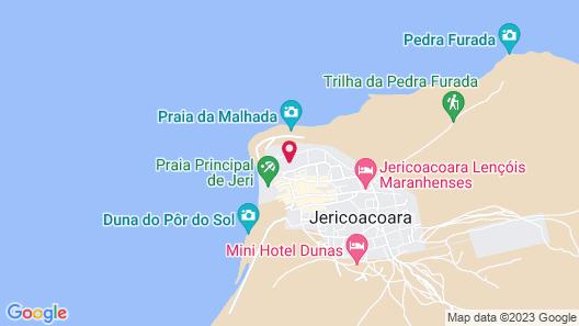 Hurricane Jeri Praia Map