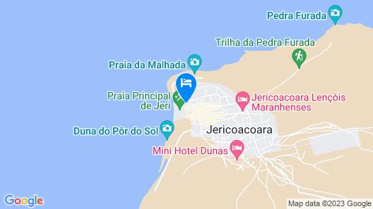 Pousada Capitao Thomaz Map