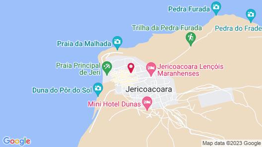 Pousada Carcara Map
