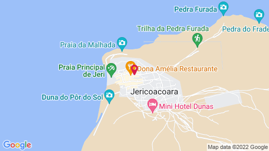 Vila Jeri anexo à Pousada Windjeri Map